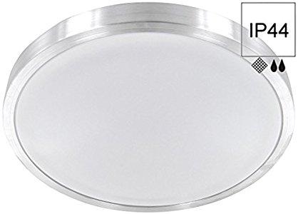 HAVA LED 12 W aluminio – Lámpara plafón de baño IP44 – Lámpara para ...
